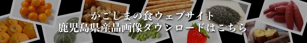 かごしまの食ウェブサイト 鹿児島県産品画像ダウンロードはこちら