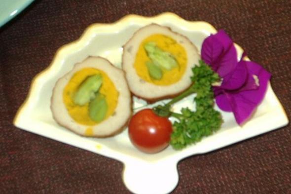 指宿野菜(そらまめ・かぼちゃ)の薩摩揚げ