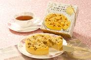 種子島発きび糖と 安納芋のクランブルチーズケーキ